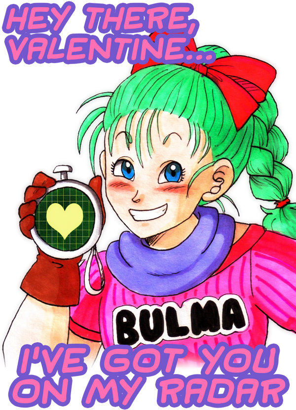 Bulma Valentine by agra19