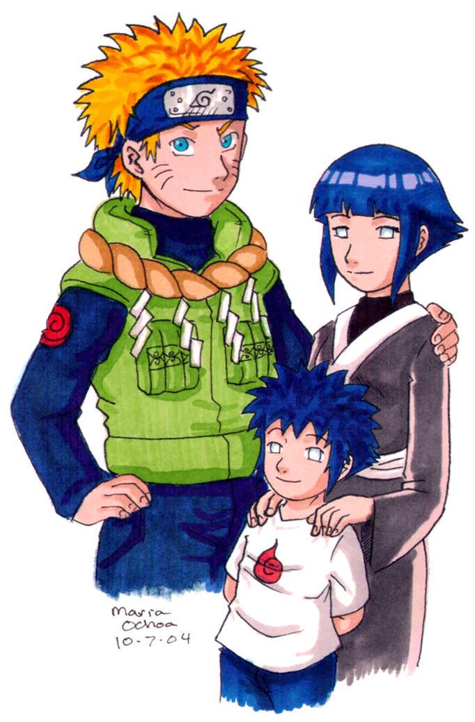 Future Uzumaki Family by agra19