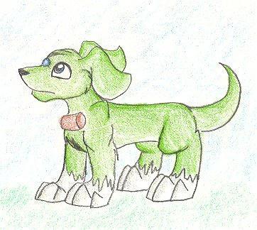 Ki...uh.. Greeny by darlimondoll