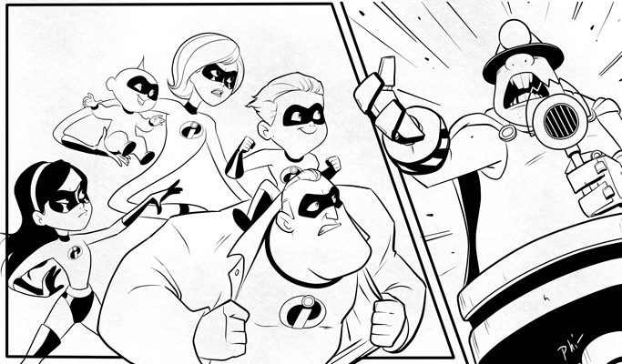 Jack Jack Storyboard Preview by Phil-G-Ramsay