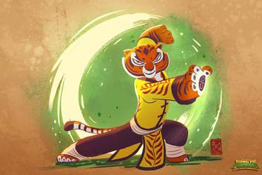 KFP : Battle of Destiny / Tigress master power by Phil-G-Ramsay