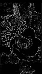 Black Flower by ScarletRose92