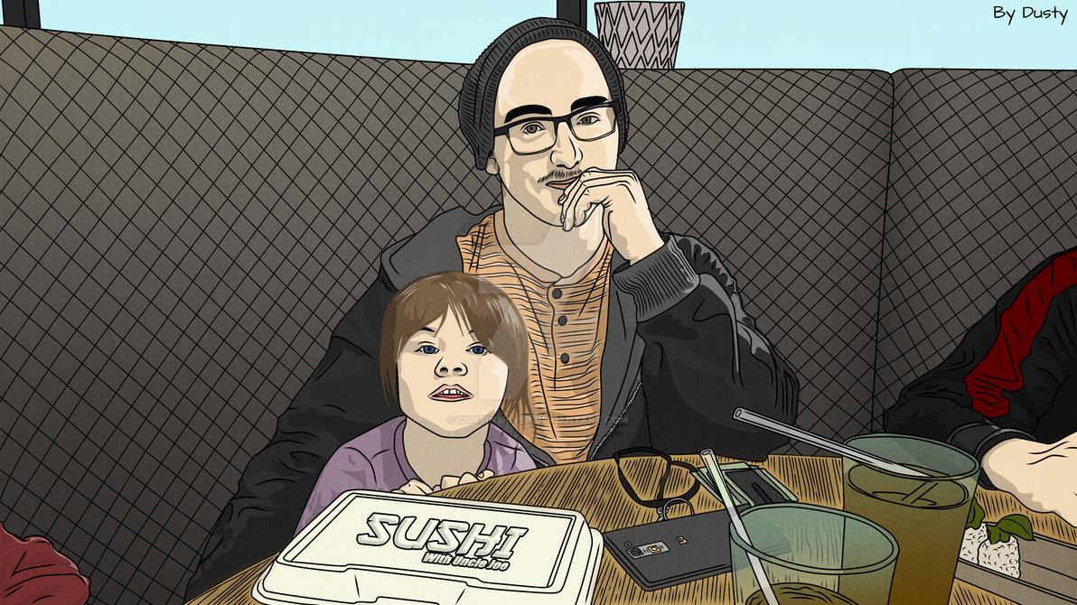 Sushi With Uncle Joe