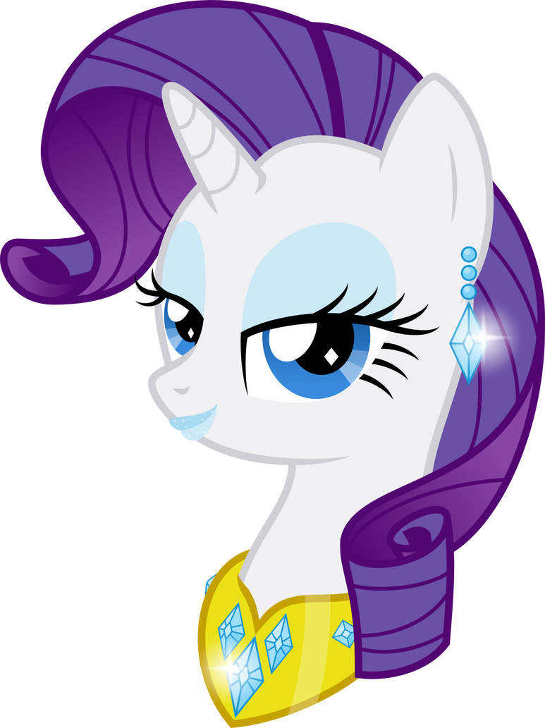 Lady Rarity by BlueYoukai