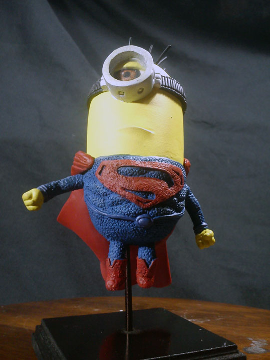 Minion Superman Minion Superman Sculpt Custom