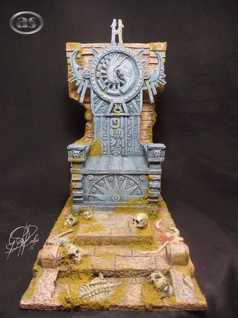 '' Trono Elder Predator Sculpt Custom Color  ''
