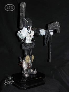 '' Lobo '' statue custom.