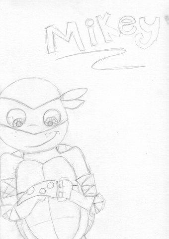 Teenage Mutant Ninja Turtles:Michelangelo (SKETCH) by ...