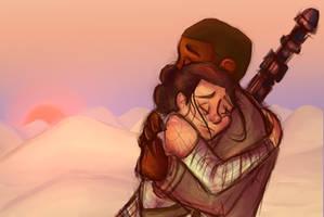 Finn and Rey by Paulycat