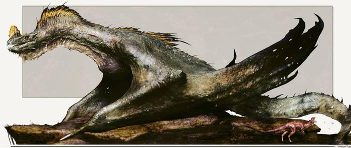 Yellowcrest dragon