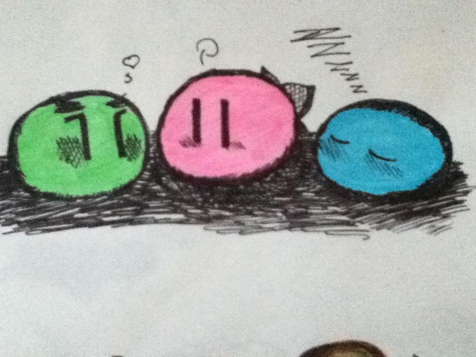 Dango drawings by Renzy-chan