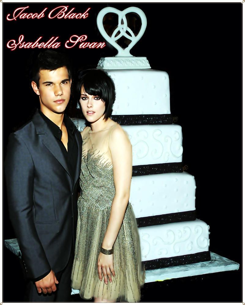 Jake And Bella Wedding Cake By Hisbloodsinger