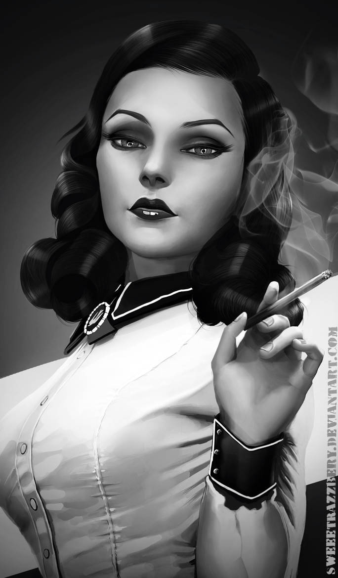 Elizabeth Bioshock Burial at Sea by SweeetRazzbery