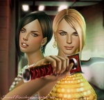 Crystal and Amber (Dead Rising 2)