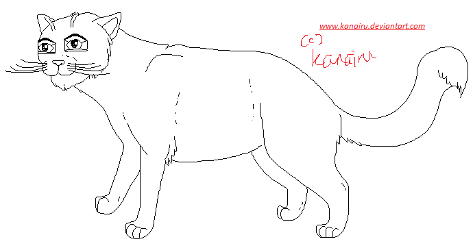 Free kitty lineart! Free_lineart___cat_by_kanairu-d31v947