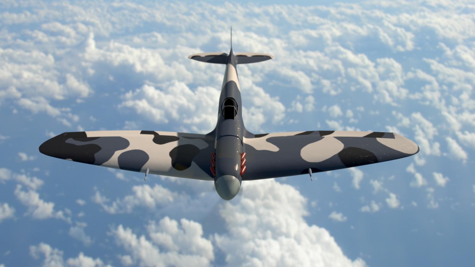 Spitfire by Nasenbaerr