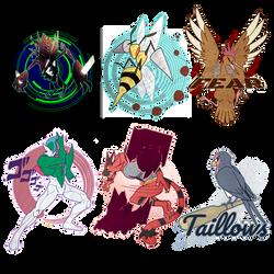 All logos by 9tailsfoxyfoxy