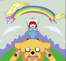 Adventure Time with Melme by Kitsukamichan