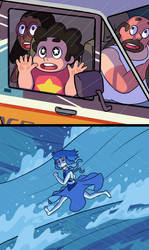 Steven Universe/Ponyo Crossover