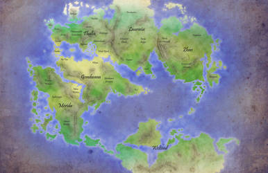 Thalia - World Map - OUT OF DATE by DarthZahl