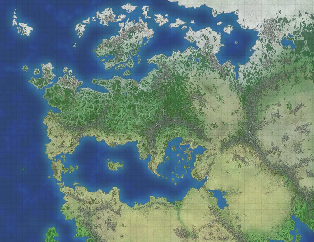 Thalia Map Without Labels By DarthZahl On DeviantArt - World map without labels