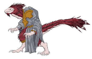 Arceus - Astrosaur Cleric by DarthZahl
