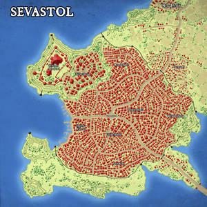 Sevastol - City Map