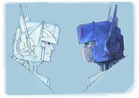 Optimus: sketch1 by ai-eye