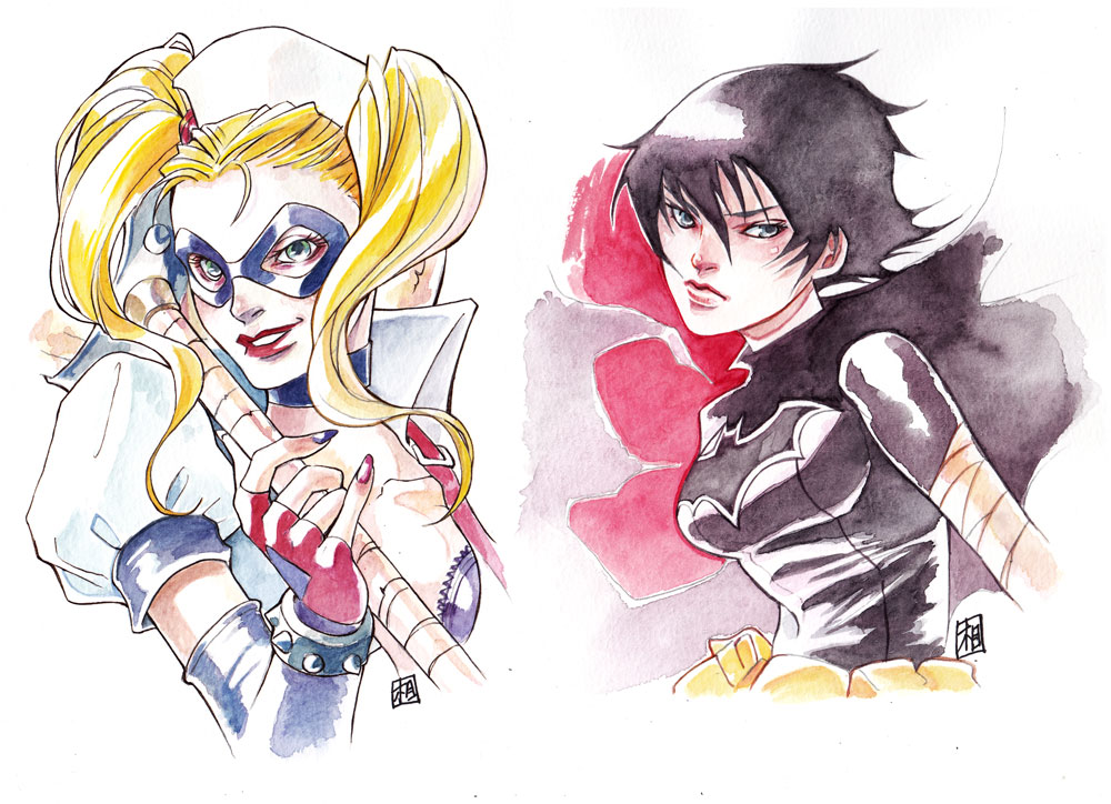 Commission DC characters by ai-eye