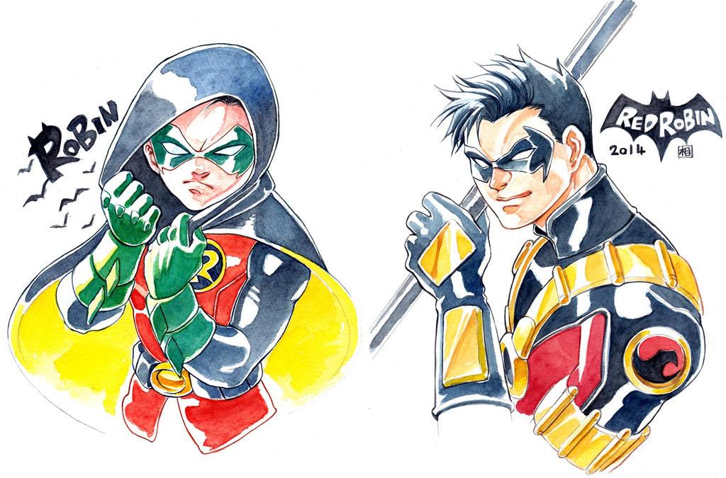 Robins by ai-eye