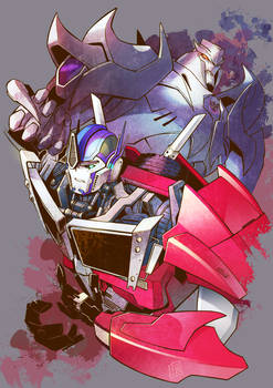 TFP Optimus and Megatron