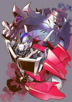TFP Optimus and Megatron