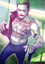 Joker by ai-eye