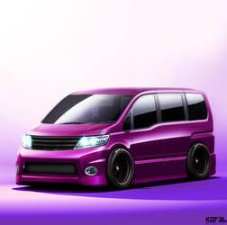 Hein: Quick Nissan Serna Van