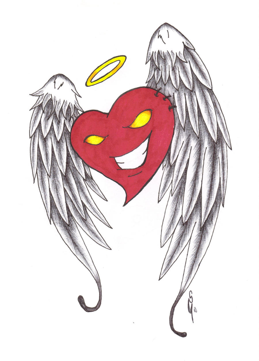 Heart with wings by Furious-Winds on DeviantArt