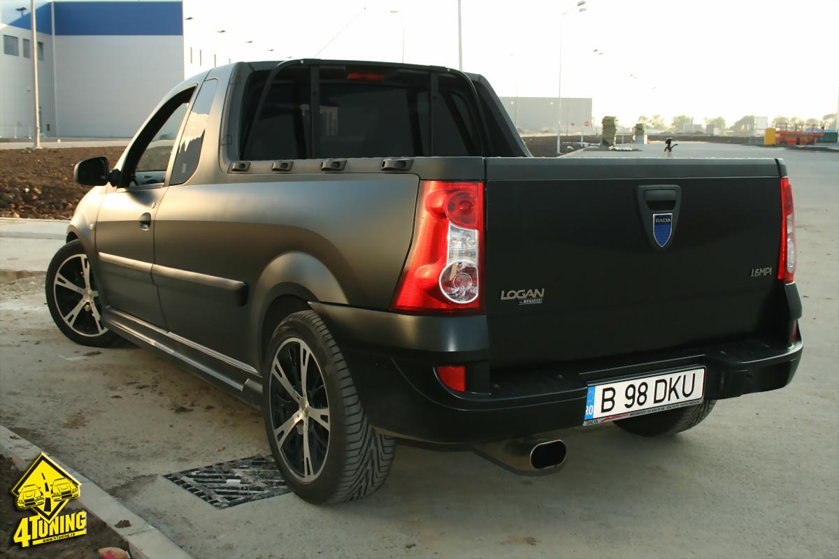 Dacia Logan Pickup 4 By Vladyd On Deviantart