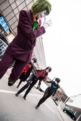 Joker run away! by Imitaga