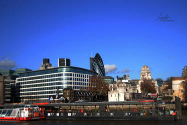 Views from Thames by Andriandreo