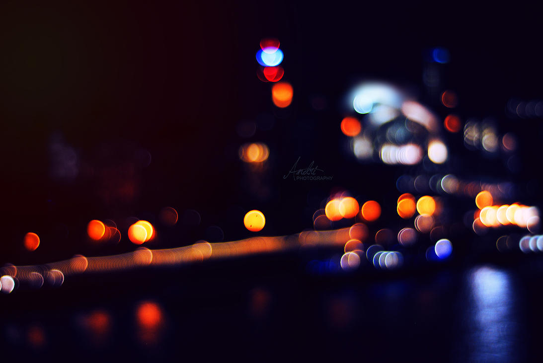 Untitled Bokeh from London by Andriandreo