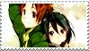 Taichi and himeko stamp by moeco
