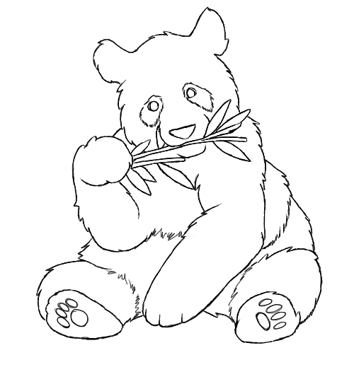 Red Panda Coloring Pages Coloring Pages