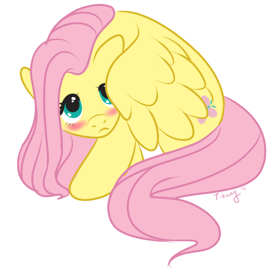 Belly Rumble Furry: Fluttershy By LittleTihany On DeviantArt
