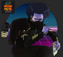 Moon Motel: SpaceAfro45