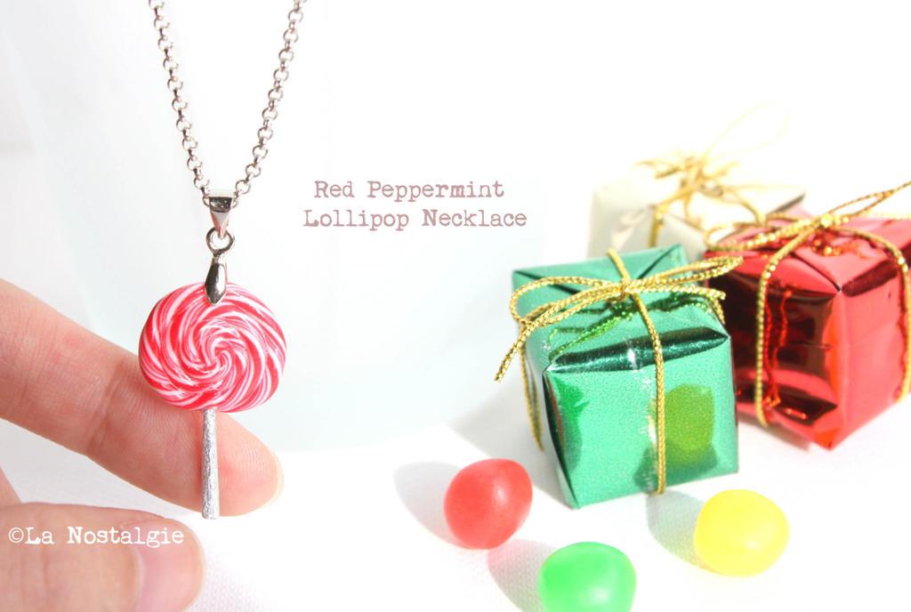 Lollipop Candy Wallpaper Red Peppermint Lollipop Candy