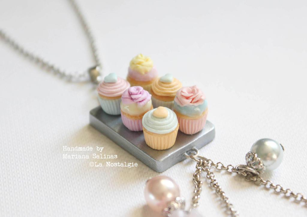 Handmade Pastel Cupcakes by LaNostalgie05