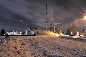 winter in stralsund by knollorulez