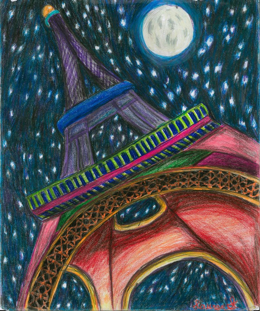 The Colors of Paris by WildlyWickedArt