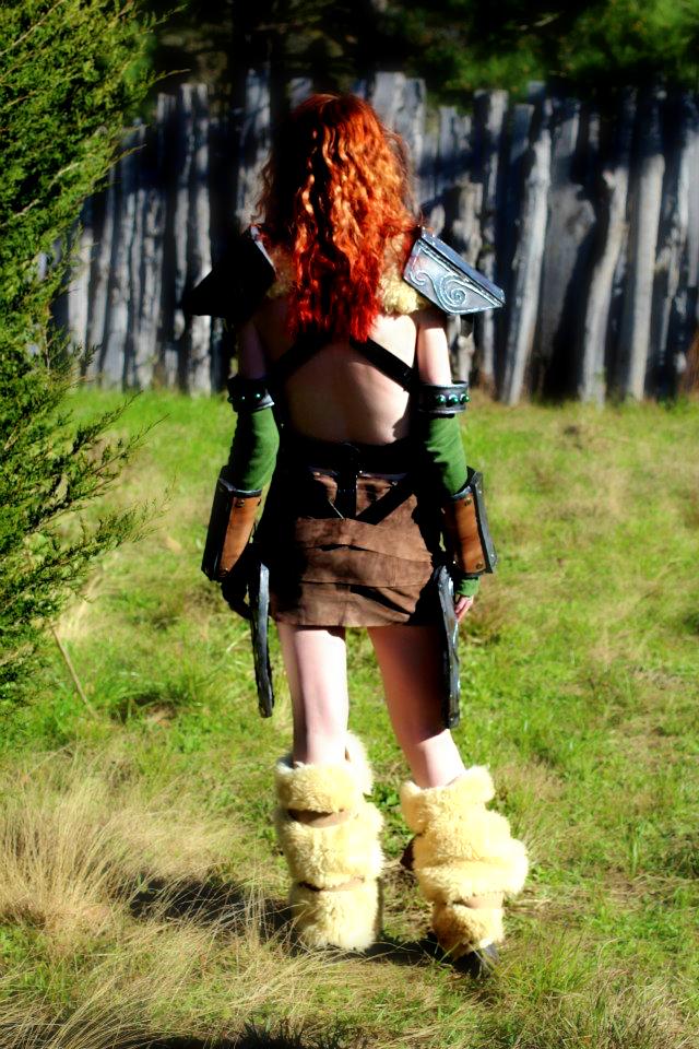 Aela On the Hunt by WildlyWickedArt