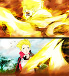 Naruto protect Boruto