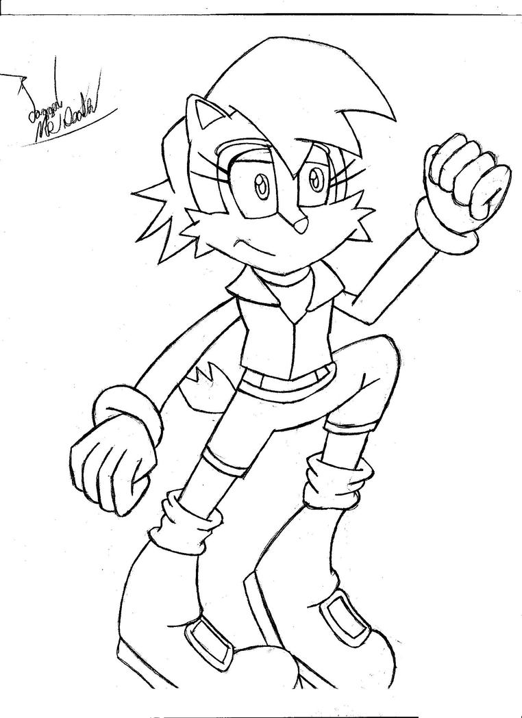 Sally Acorn Coloring Pages | fotohof